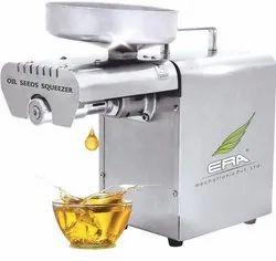 Semi-Automatic ERA Oil Press Machine, Capacity: 3 - 6 Kg/ Hr