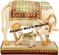Cow Marble Statue