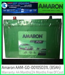 AAM-GO-00105D31L AMARON CAR battery