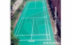Badminton Outdoor Court KTR Playgo