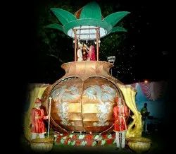 Jaimala Theme Kalash Wedding Stage