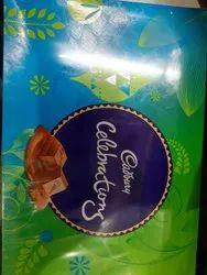 Choclare Blue 175g Cadbury Celebration Chocolate, Packaging Type: Box