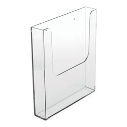 Acrylic Paper Holder Display A4 Size Wall Mounted