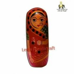 Wooden Woman Doll