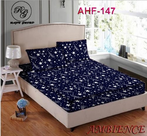 3D Printed Cotton Double Bedsheets