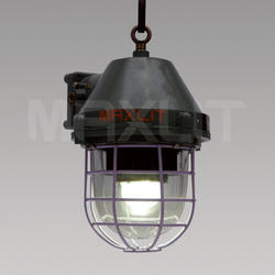 45W LED FLP Well Glass Lamps