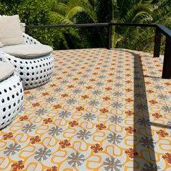 Designer Hand Printed Tile