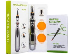 Metal Full Body Acupuncture Pen Laser Electronic Pulse Analgesia Therapy Machine