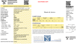 0.50ct IGI Certified Diamond HPHT D VS1 Round Brilliant Cut Type2