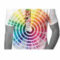 Cotton Casual Wear Pantone Color T-shirt