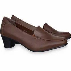 Ladies Brown Formal Shoes