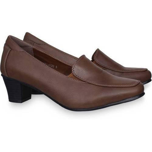 3b6f4ed2e2e85 Ladies Brown Formal Shoes