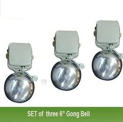 Swaggers Set Of 3 Electric Gong Bell