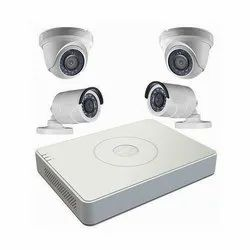 Analog Camera 8 Channel CCTV Surveillance System, For Indoor And Outdoor, 20m