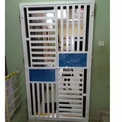 Iron Safety Door