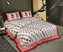 Double Bedsheet Floral Printed