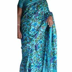 Multicolor Printed Ladies Trendy Saree