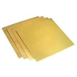 Rishaba Engineering Brass Sheet, Square, 0.3 Mm To 12 Mm