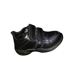 PVC Black School Shoes