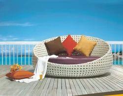 Rattan Poolside Beds