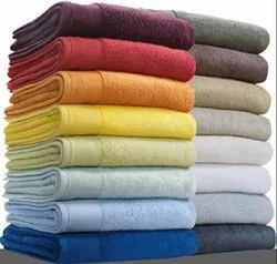 Multicolor Plain Recycled Cotton Terry Towels 30 x 60 inches 380 grams INR 10