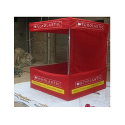 Red Polyester Canopy