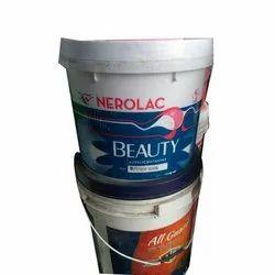 Liquid Matt Nerolac Beauty Acrylic Distemper, For Wall, Packaging Type: Bucket