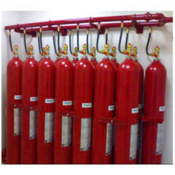 Gas Flooding Fire Suppression System
