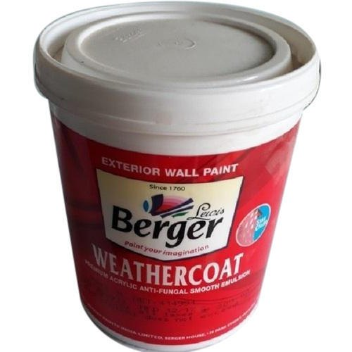 Berger Weathercoat Smooth Exterior Wall Paint