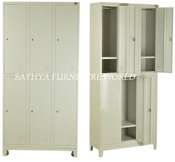 Employee Cloth Lockers 6 Doors