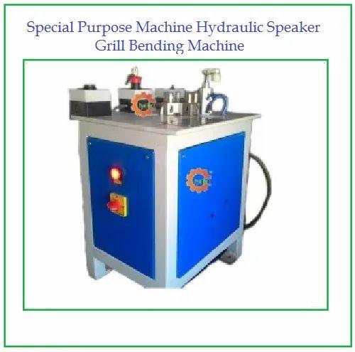 Special Purpose Machine Hydraulic Speaker Grill Bending Machine