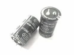 6800 MFD 63V STONE-PRO Aluminium Capacitor for Audio