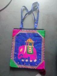 Mix Dhupien Ladies Embroidered Side Bag