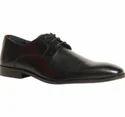 Brown Bata Black Formal Shoes For Men, Size: 8