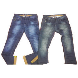 Regular Fit Dobby Mens Slim Fit Jeans