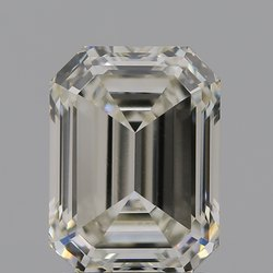 Emerald Cut CVD Diamond 2.08ct I VVS2 IGI Certified