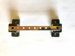 140 MM - 9 Hole Copper Busbar Strip