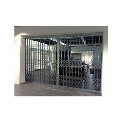 Sliding Collapsible Iron Gate