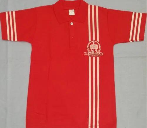 Unisex School T-shirt School Uniform T Shirt