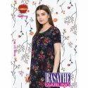 Full Length Cotton Ladies Trendy Nightgown