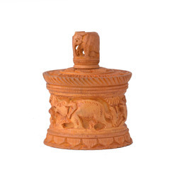 Wooden Round Boxes