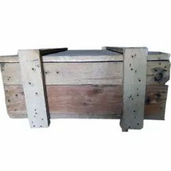 Rectangle Wooden Packaging Box, Capacity: 1-200 kg