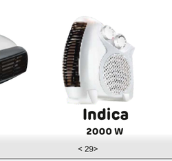 Indica 2000W Room Heater