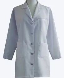 Soham Plain Fluid Resistance Doctor Coat