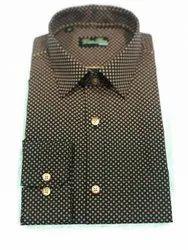 Cotton Formal Wear Green Bows Shirt