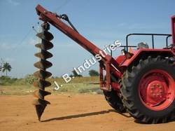 Tractor Operated Pit Digging Machine