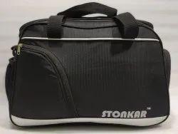 Stonkar Black Gym Bag