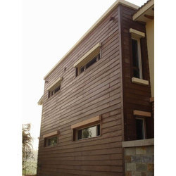 Exterior Wooden Wall Cladding
