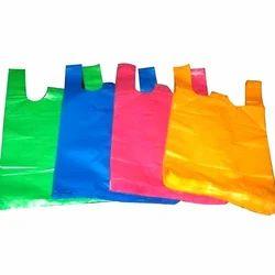 Plain Waterproof Plastic Shopping Bag