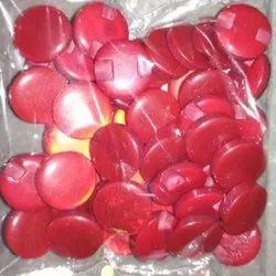 Round Plain Plastic Coat Button
